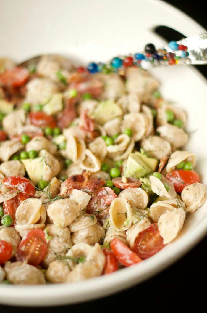 BEST BLT Pasta Salad