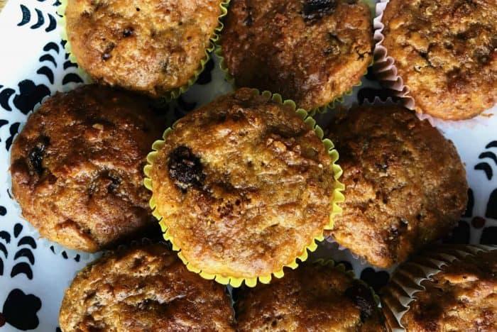 The BEST Buttermilk Raisin Bran Muffins