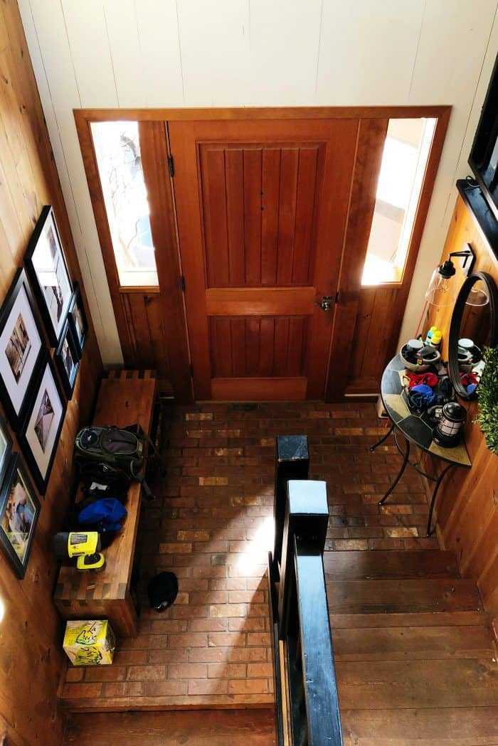 Cluttered House Entry Way Confession