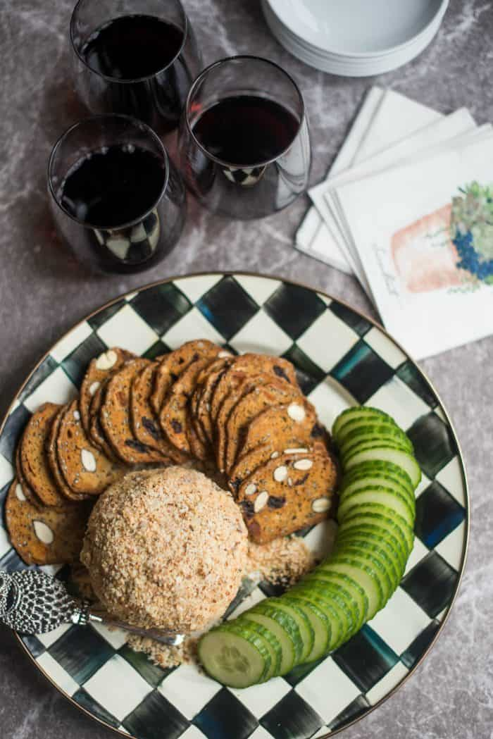 Easy Feta Cheese Ball Appetizer