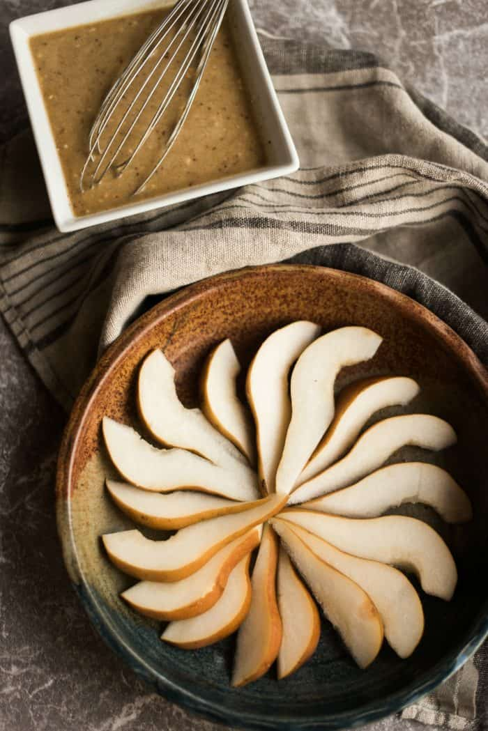 How to make Honey Ginger Pear Custard Pie