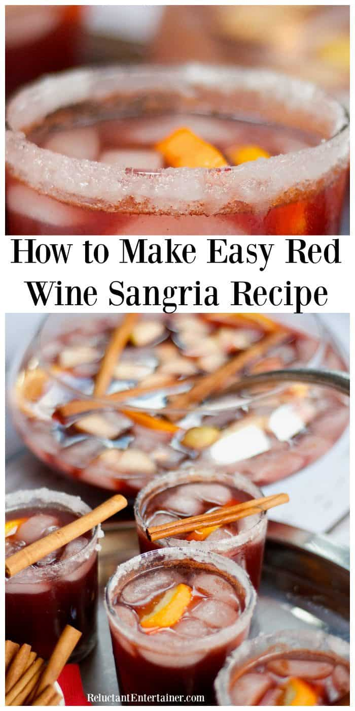 How to Make Red Wine Sangria Recipe