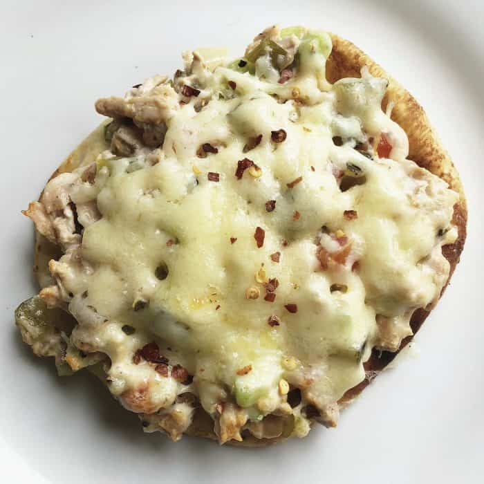 Quick and easy Salmon Easy Flatbread Recipe