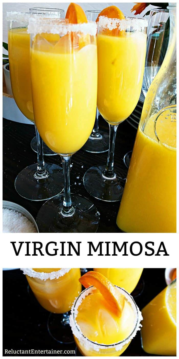 Virgin Mimosa Beverage