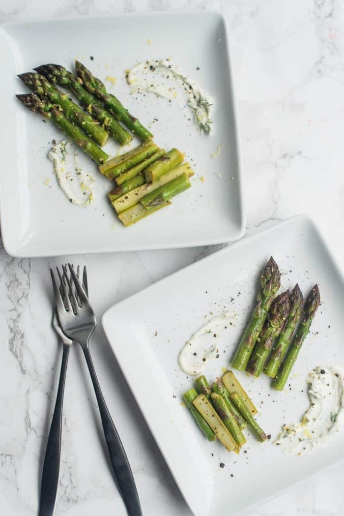 Easy Butter Dill Sautéed Asparagus