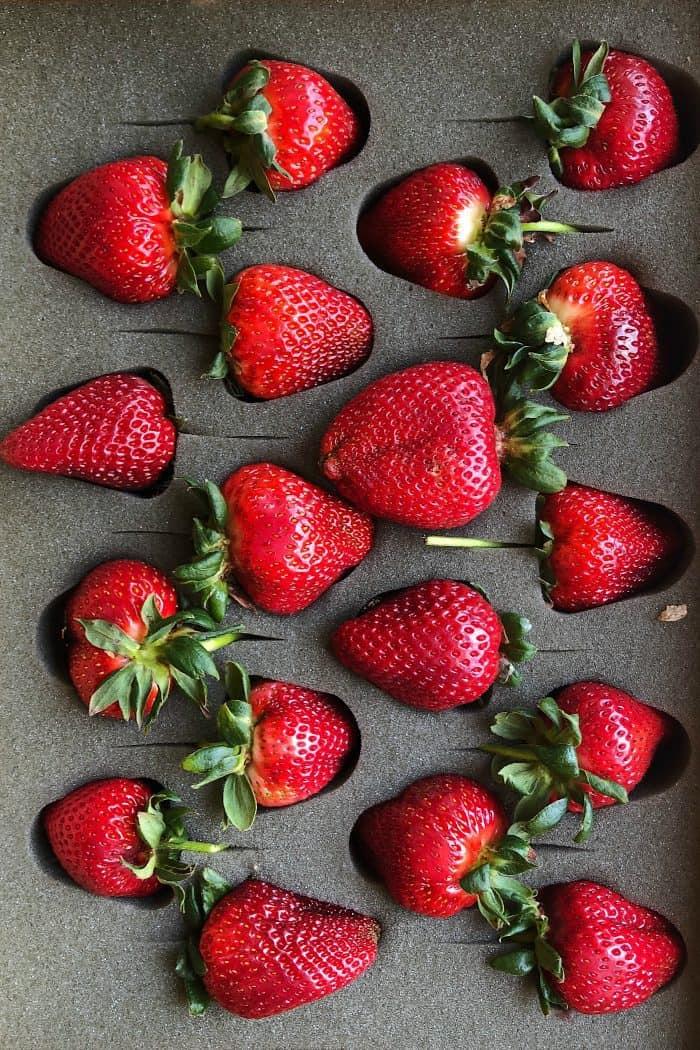 Harry & David strawberries