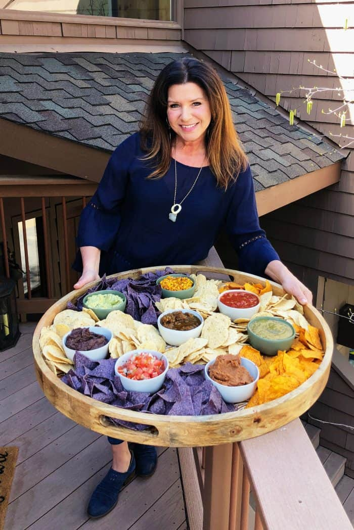 EPIC Chips and Salsa Board - Reluctant Entertainer