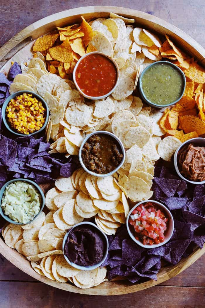 BEST EPIC Chips and Salsa Board