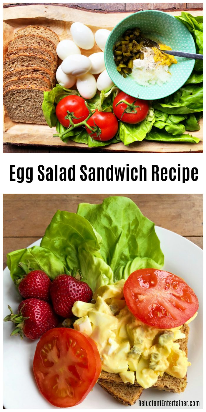 Best Egg Salad Sandwich Recipe