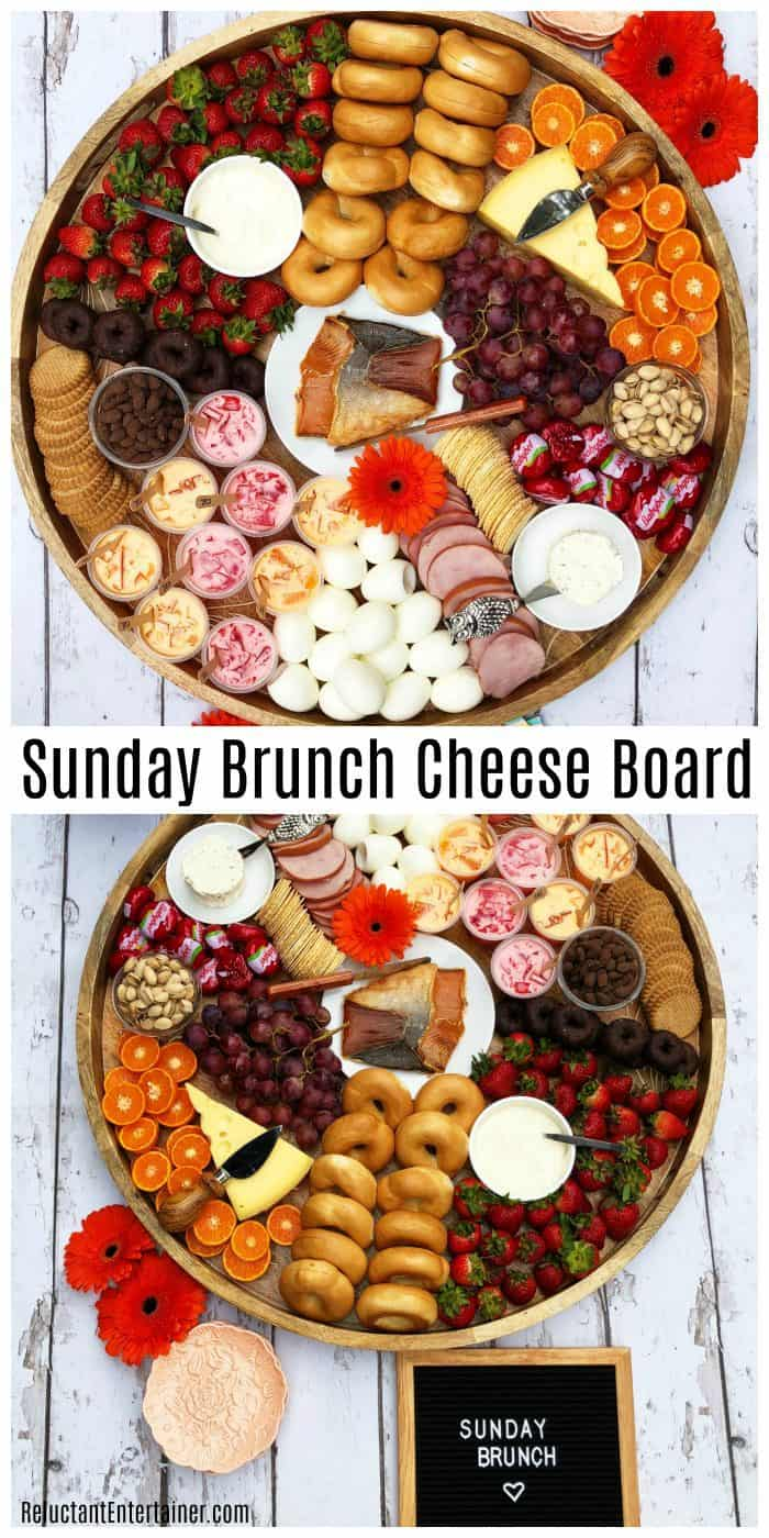 Best Sunday Brunch Cheese Board Recipe
