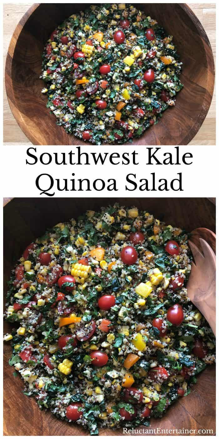 Best Southwest Kale Quinoa Salad