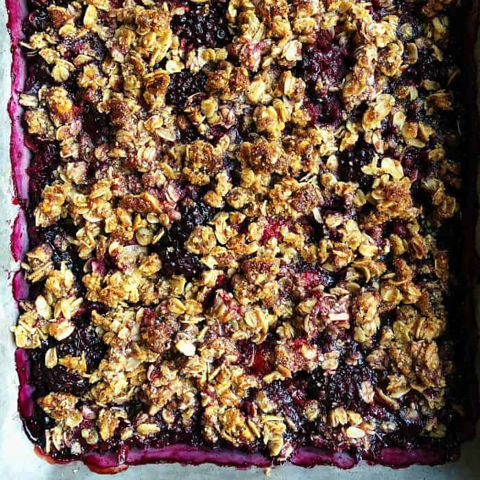 Delicious Mixed Berry Crumble Recipe