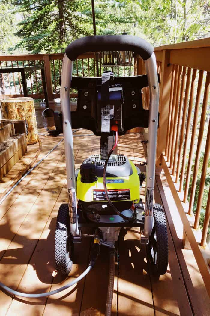 Preparing for Summer with Ryobi Outdoor Products - power washer