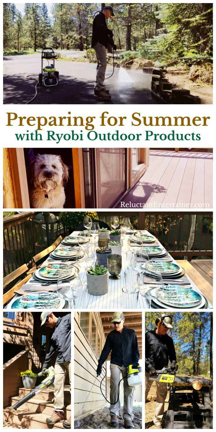 Preparing for Summer with Ryobi Outdoor Products