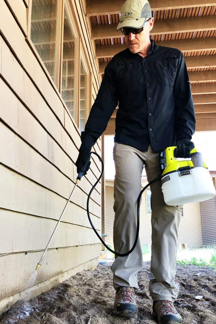 Preparing for Summer with Ryobi Outdoor Products - sprayer