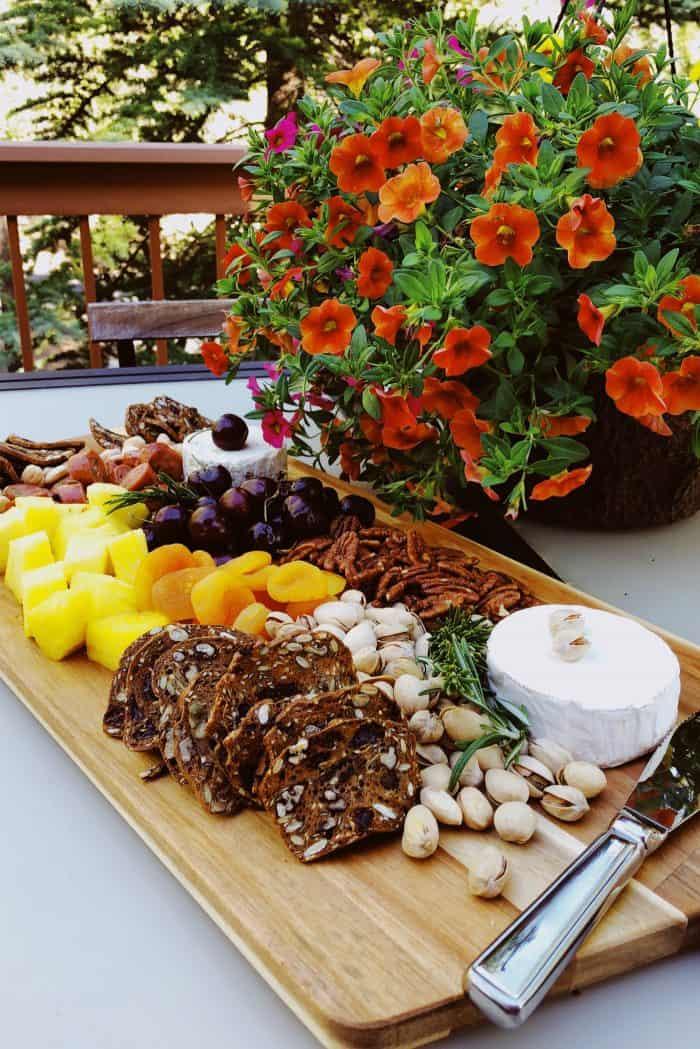 Summer Pineapple Cheese Board Recipe