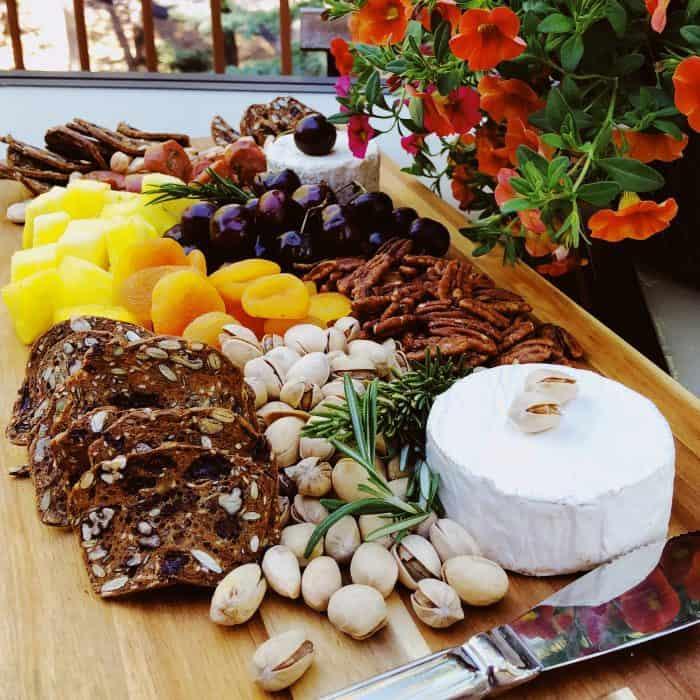 Summer Pineapple Cheese Charcuterie Board
