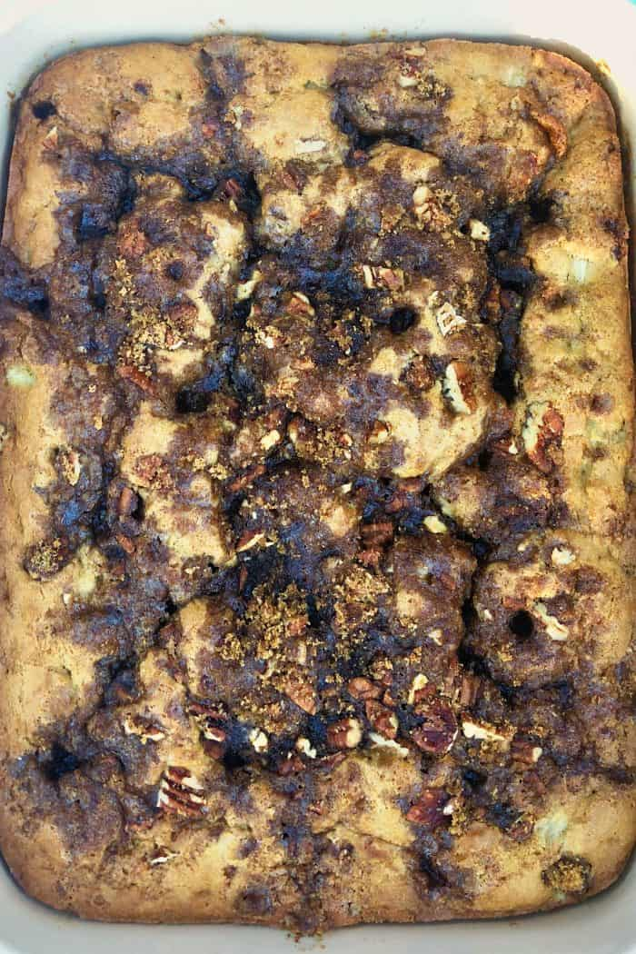 BEST Rhubarb Buttermilk Coffee Cake