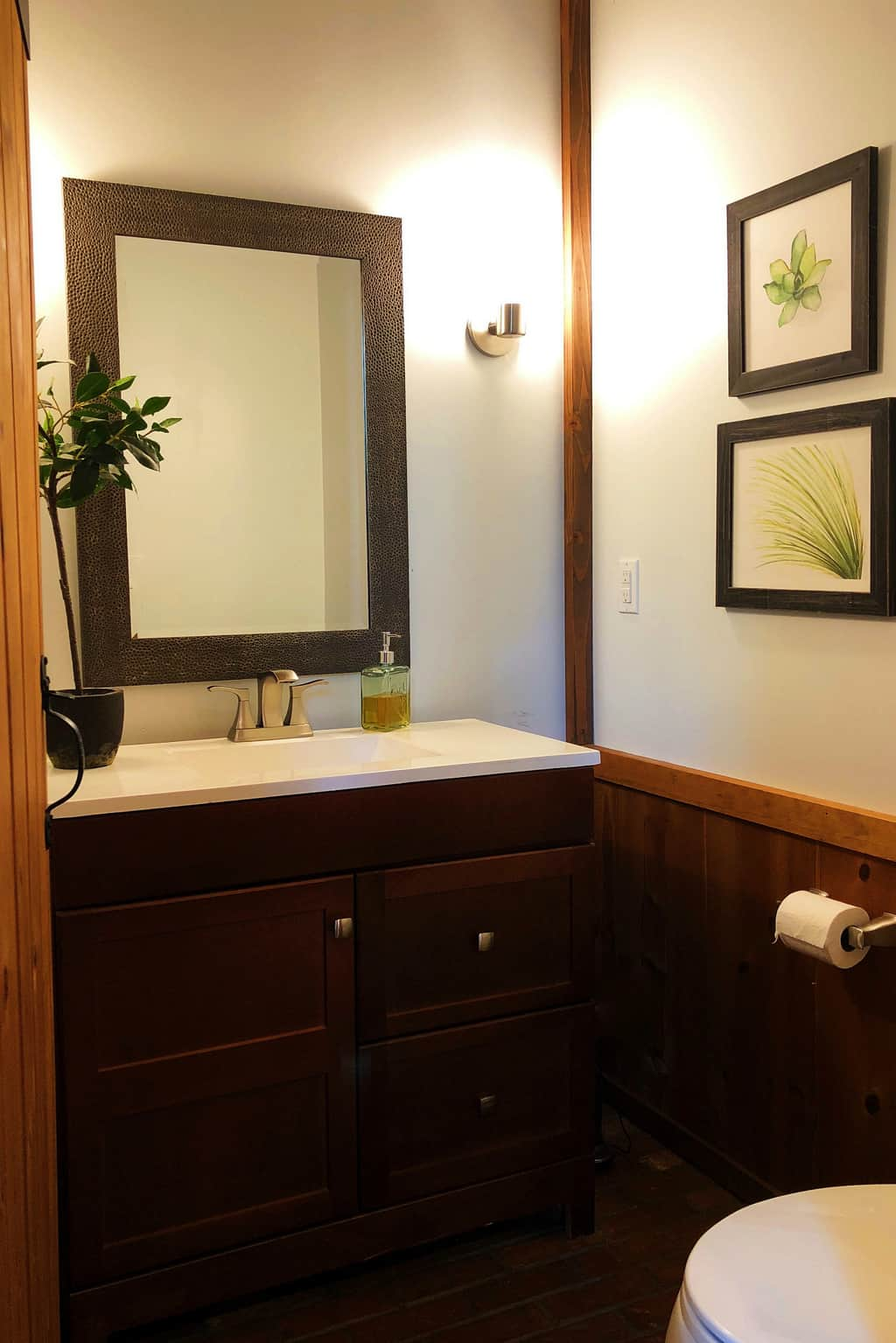 Diy Mountain Home Bathroom Remodel Reluctant Entertainer