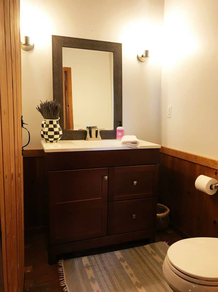 diy mountain home bathroom remodel - reluctant entertainer