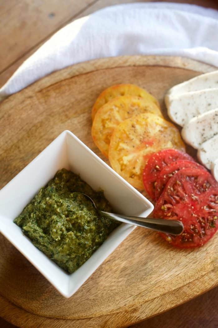 Dairy-Free Cashew Pesto Recipe
