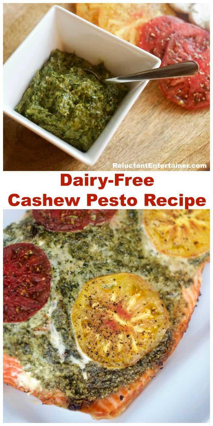 Dairy-Free Cashew Pesto