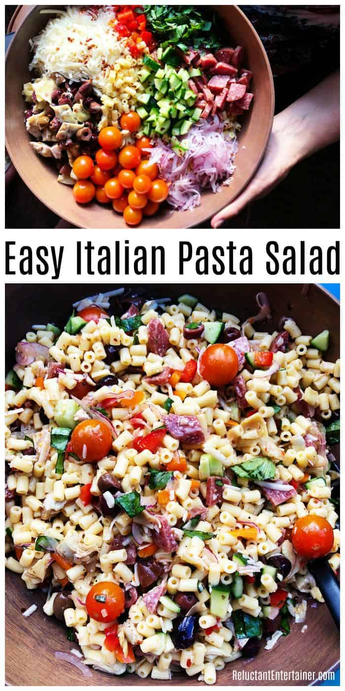 Easy Italian Pasta Salad Recipe