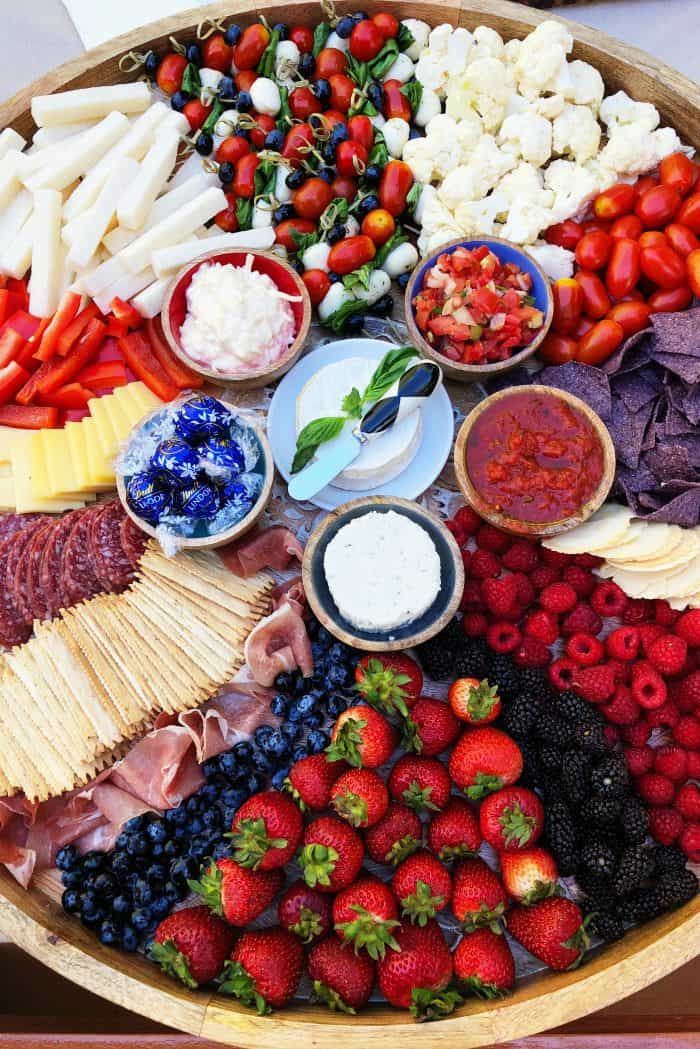 Epic July 4th Charcuterie Board