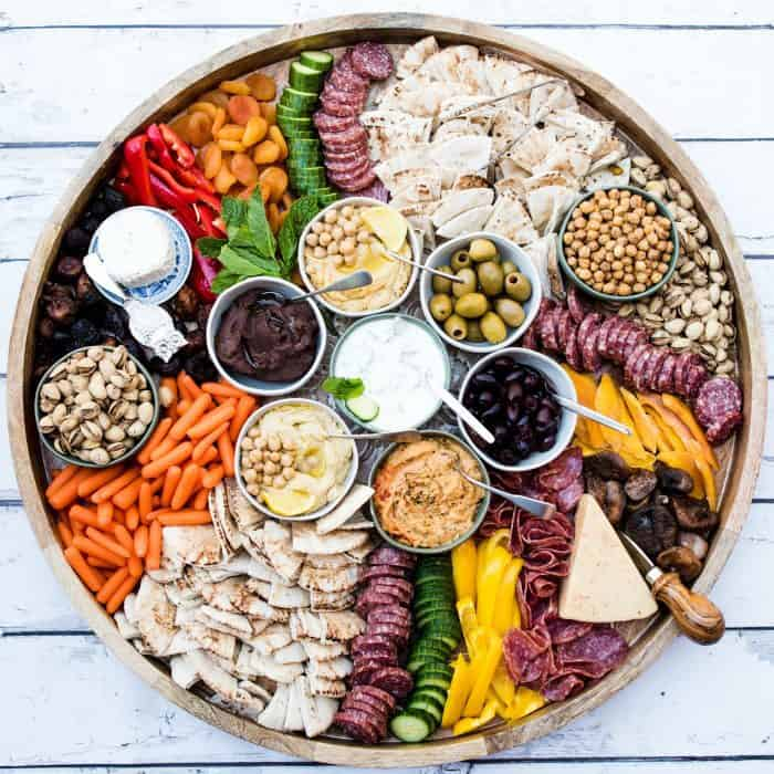 PARTY BEST Epic Greek Charcuterie Board