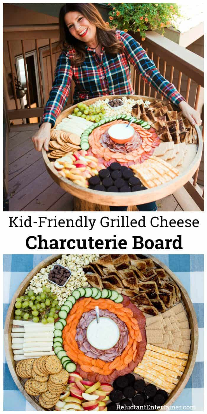 The BEST Kid-Friendly Grilled Cheese Charcuterie Board