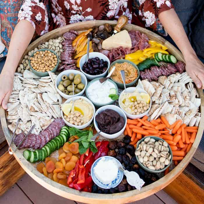 BEST EVER Epic Greek Charcuterie Board