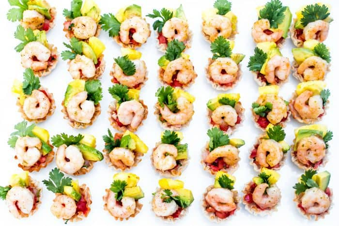 Simply Bake Shrimp Scampi Taco Bites Recipe