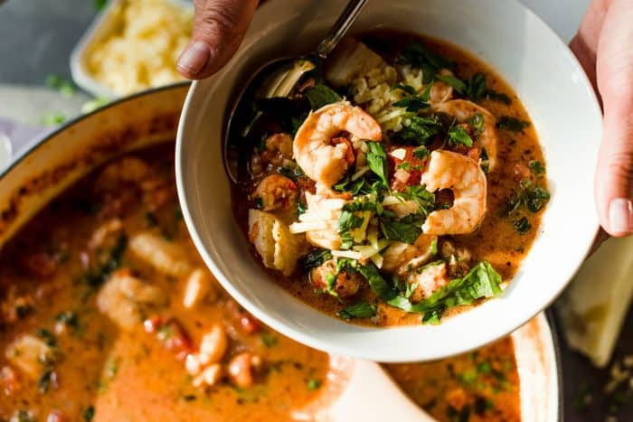 BEST Mixed Seafood Soup