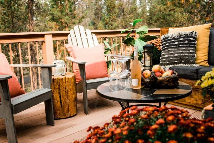 Cozy Outdoor Living Space