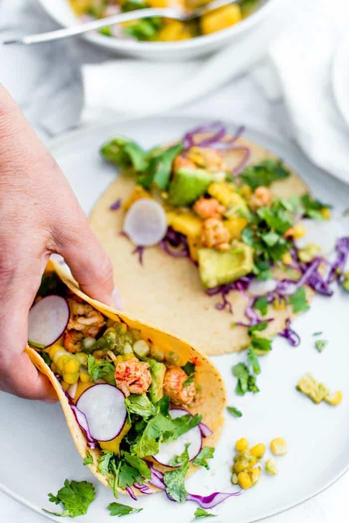 Best Lobster Avocado Corn Tacos Recipe