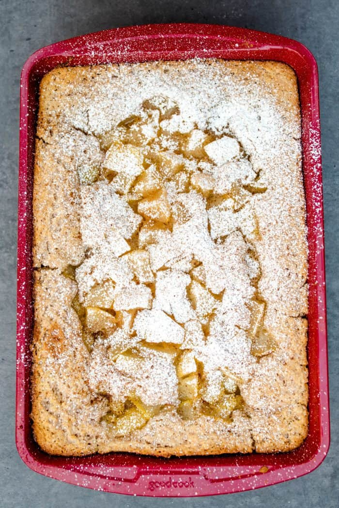 Tasty No-Peel Easy Pear Cobbler