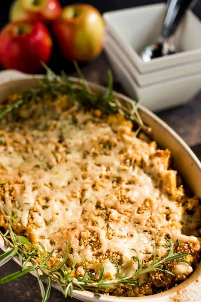 TASTY Pumpkin Apple Three Cheese Mac and Cheese