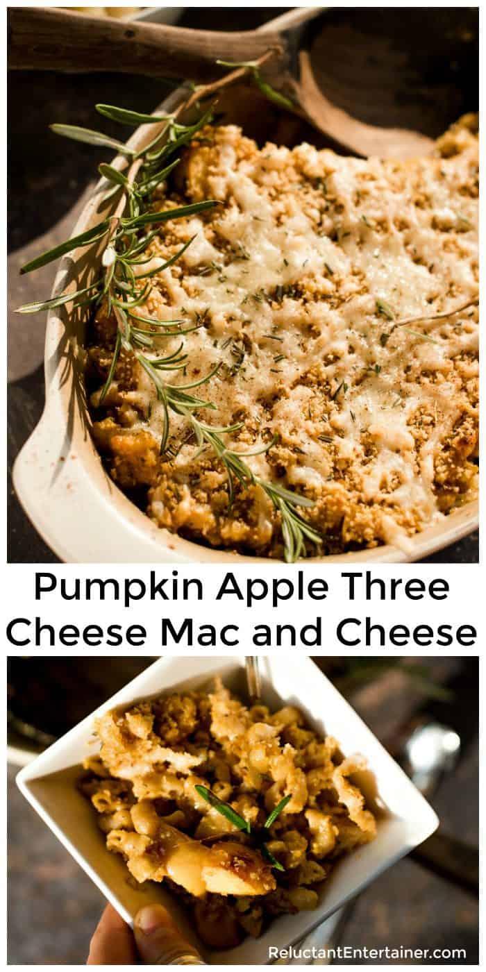 Pumpkin Apple Three Cheese Mac and Cheese Recipe