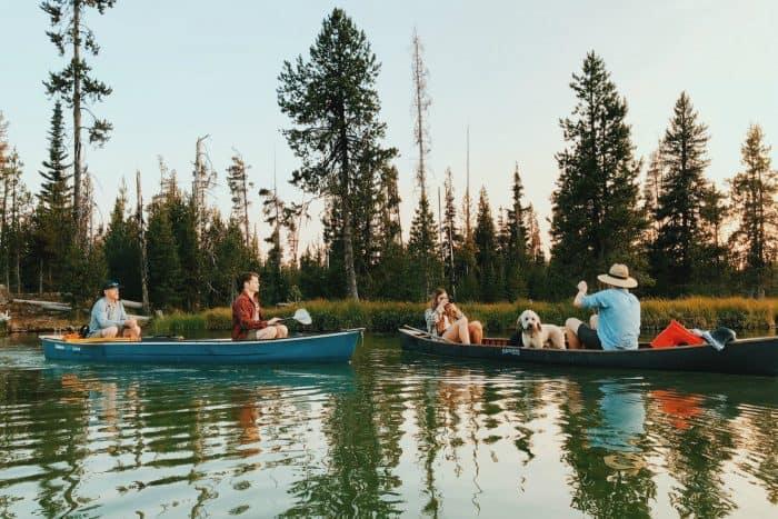 family - Hosmer Lake