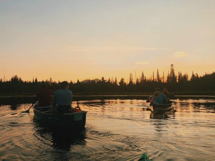 sunset - Hosmer Lake