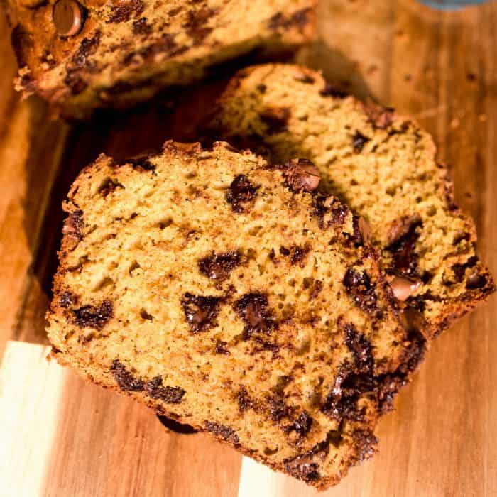 SO GOOD Pumpkin Chocolate Chip Banana Bread