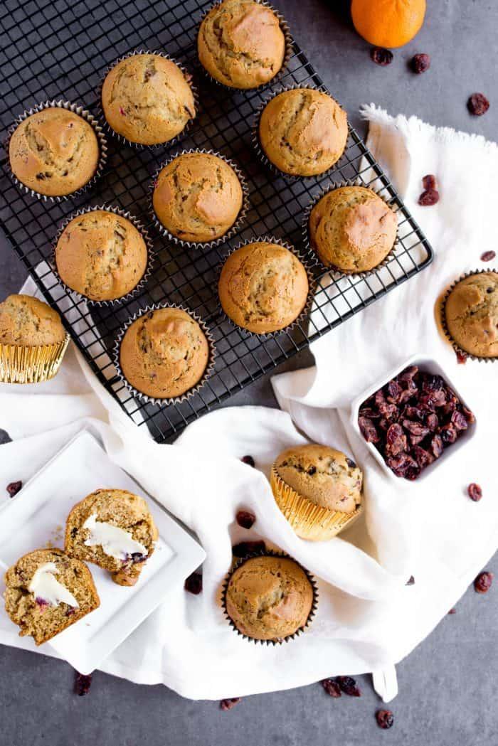 Tasty Pumpkin Cranberry Muffin Recipe
