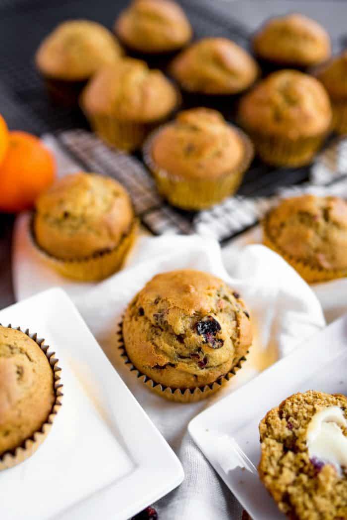 Best Pumpkin Cranberry Muffin Recipe