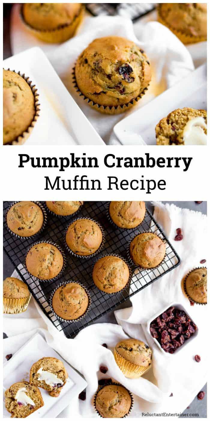 Pumpkin Cranberry Muffin