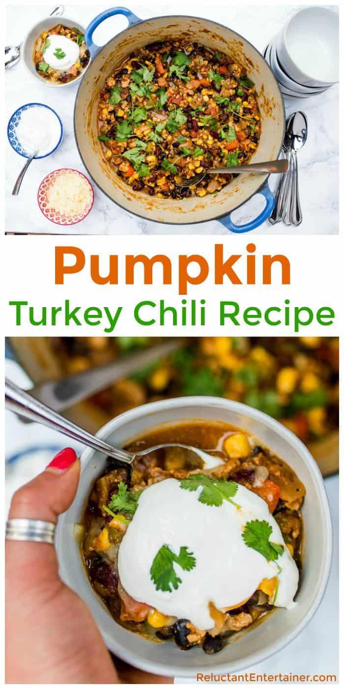 Best Pumpkin Turkey Chili
