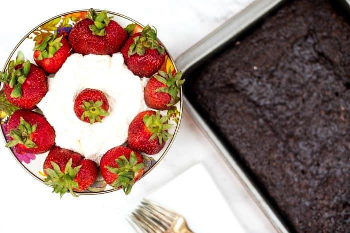 Easy Last-Minute Crazy Cake Recipe