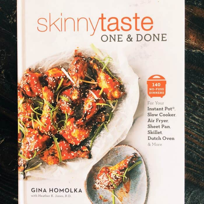 Skinnytaste One and Done book