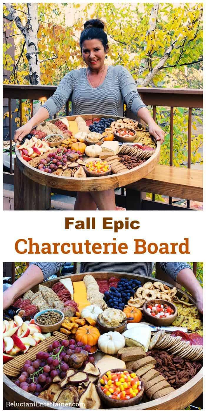 Fall Epic Charcuterie Board Recipe (Shopping List)