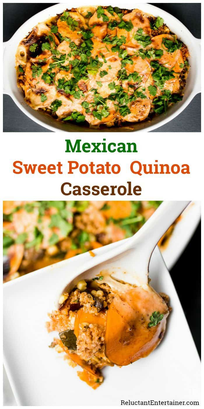 Mexican Sweet Potato Quinoa Casserole Recipe