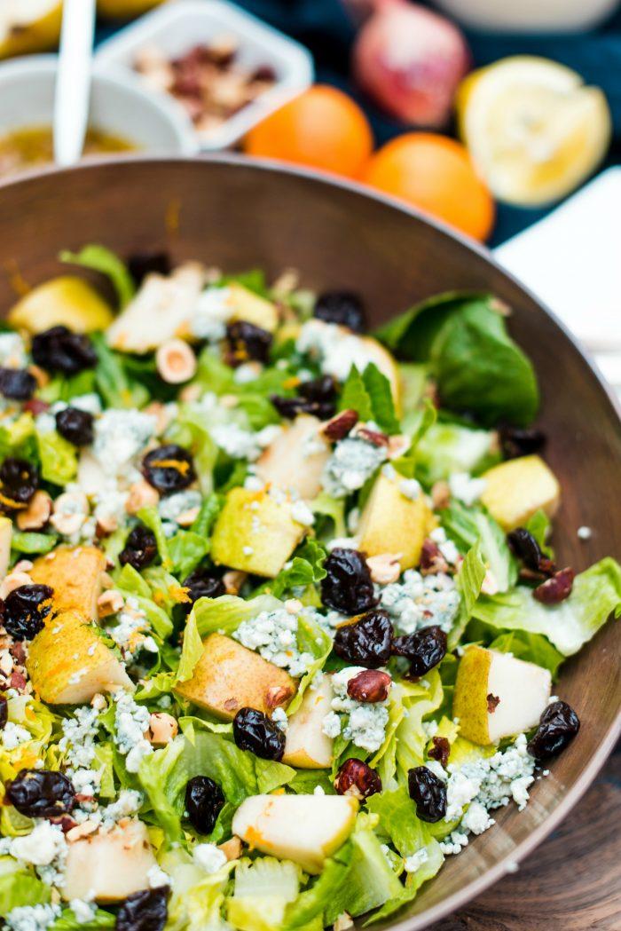 Pear Romaine Lettuce Salad